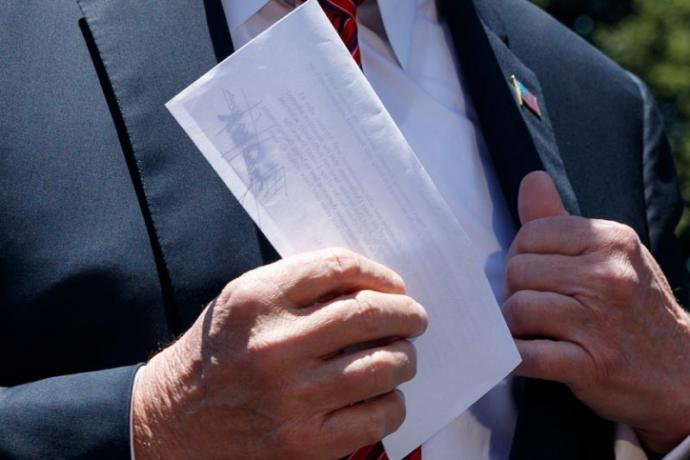 What do you really think is on that Surreptitious 8½ x 11 piece of paper?