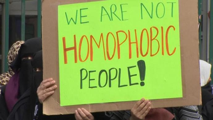 What do you think of the anti-LGBTQ protests outside a school in Birmingham?