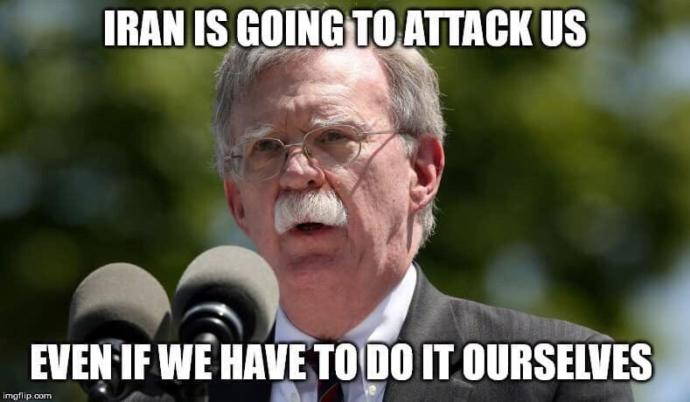 Do you really believe Iran is responsible for the resent oil tanker attack or do you believe it's another false flag to start war with Iran?
