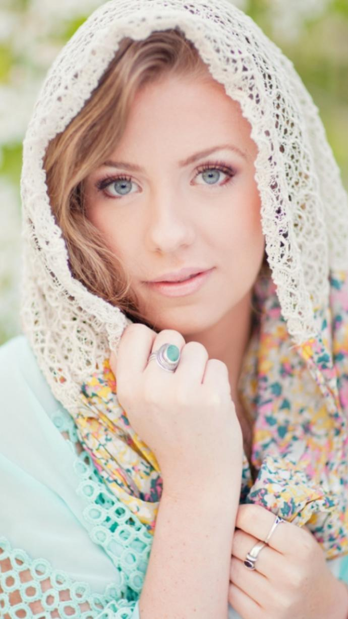 What would you think about a woman wearing a headcovering like this?