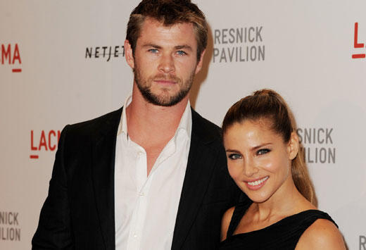 If you were Chris Hemsworth wife, would you be worried?