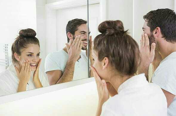 How long have you gone without looking at yourself in the mirror?