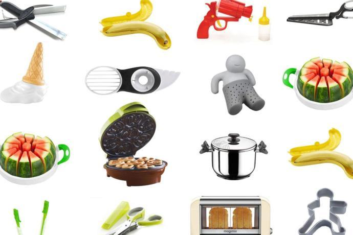 Why do people buy so many food gadgets?