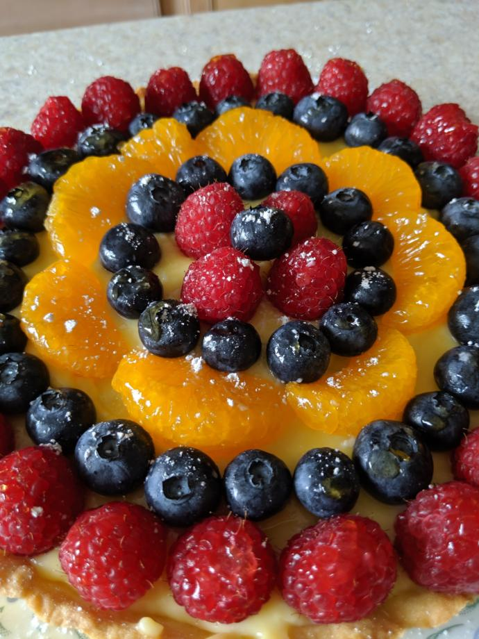 ❤️ What do you think of my Fruit Tart?