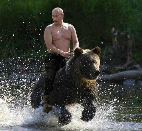 The U. S. president is no longer the most powerful man on earth, Putin is? Agree or disagree?