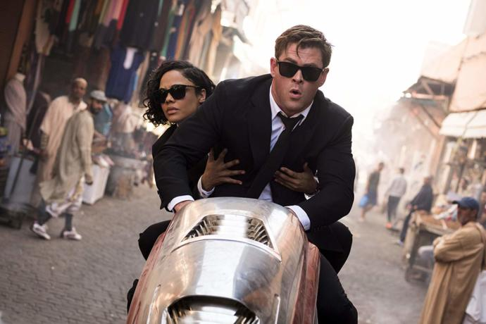 Why is there main woman character in MEN in Black movie?