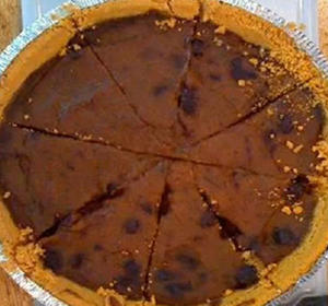 Would you eat a Blueberry and pumpkin (blumpkin) pie?