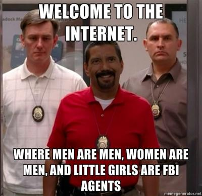 Guys, Do (attractive) women use the internet?