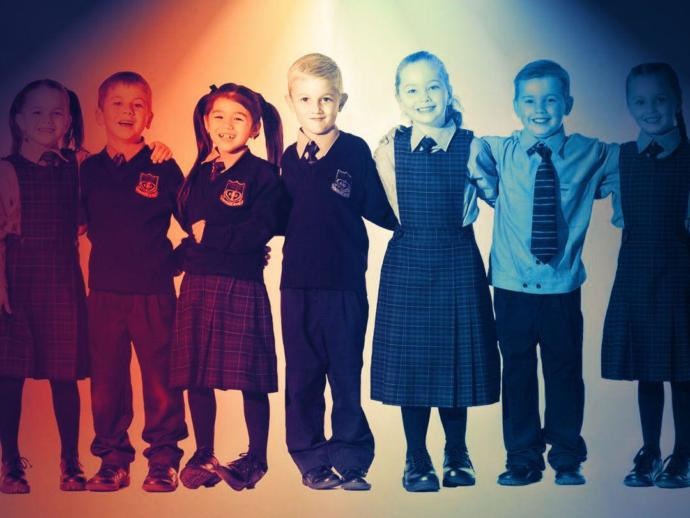 Should all kids have to wear a uniform in school?