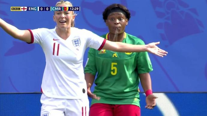 Racism!! What are your thoughts on the Cameroon vs England womens soccer match?