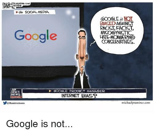 Why is Google & Facebook branding conservatives as Nazis?