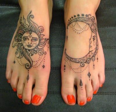 Foot Tattoos Yay Or Nay Girlsaskguys