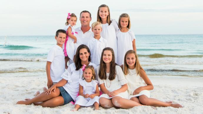 Guys, Which female looks the best in Philip Rivers' family between his wife and 6 daughters?