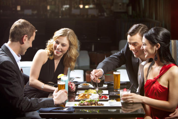 Not all double dates are glitzy and glamorous