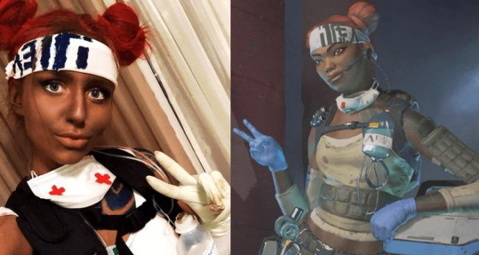 Twitch had banned this streamer, girl, for doing black face of a game character from Apex Legends. Do you agree with the ban?