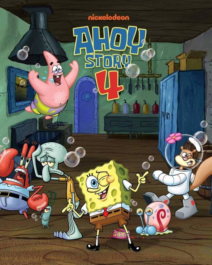 Which of these fake Spongebob movie posters do you like best?