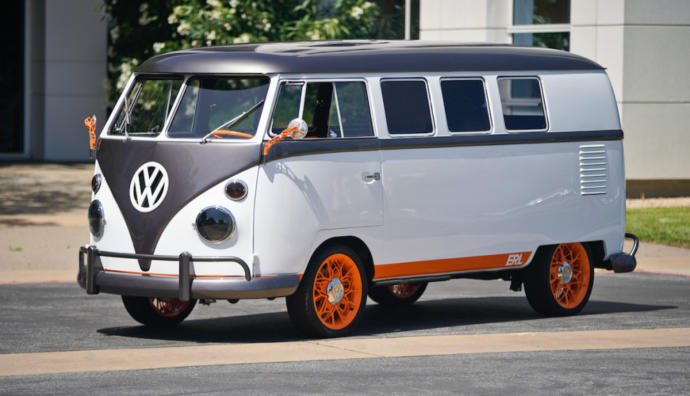 Do you think this VW Microbus is pretty or hideous?