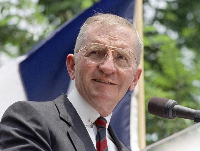 Ross Perot, Texas billionaire and former presidential candidate, dead at age 89 . What's your views on when he ran for US President?