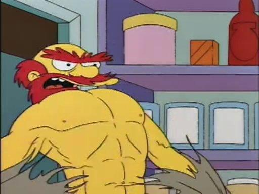 Who is the most badass character on The Simpsons?