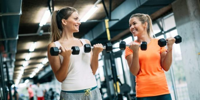 when u go to the gym do you like going by yourself or with a partner?