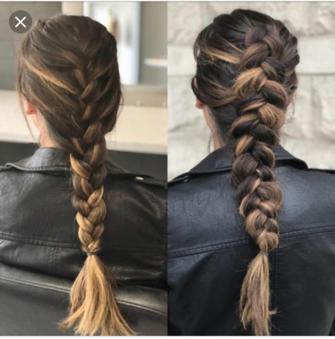 Which braids look more attractive in your opinion?
