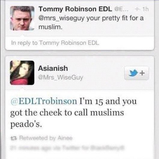 What do you think about Tommy Robinson? Should he be jailed?