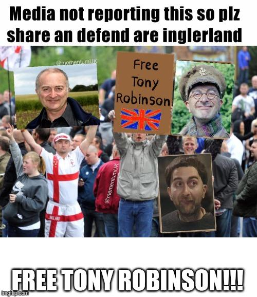 Free Tony Robinson!!! Britain what is it all about?