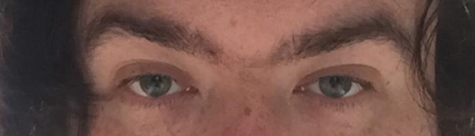 Are my eyes hazel green?
