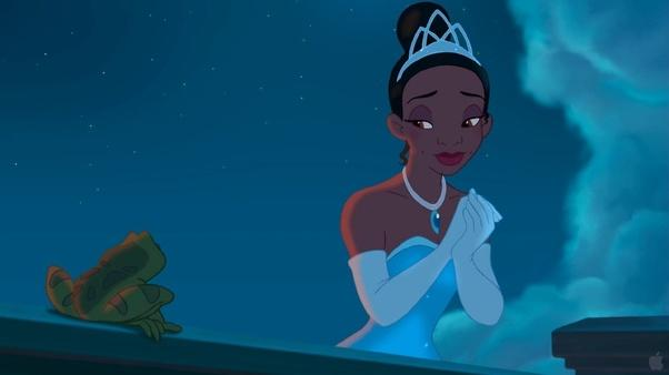 How would you feel if a white woman was cast to portray Tiana from Princess and the Frog in a live action movie😏?