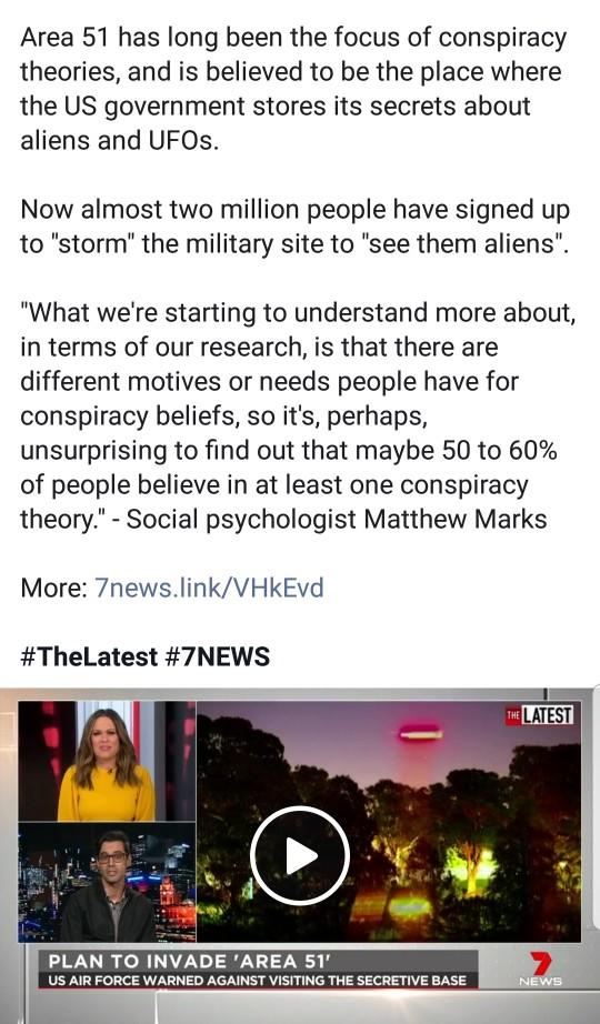 Area 51: Do you believe they are keeping aliens?