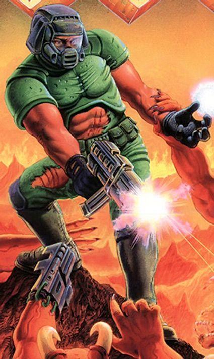 Who's more of a badass, the Doom guy or Doom slayer?