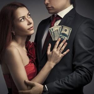 Are men expected to have more money than women in a relationship?