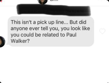 Why do chics on Tinder or Bumble always compare me to some celebrity?