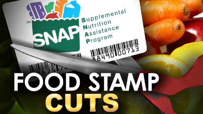 Trump administration plans to take away food stamps from 3 million people. Agree or Disagree?