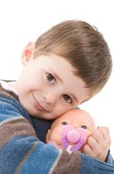 Would you give a baby doll to a boy?
