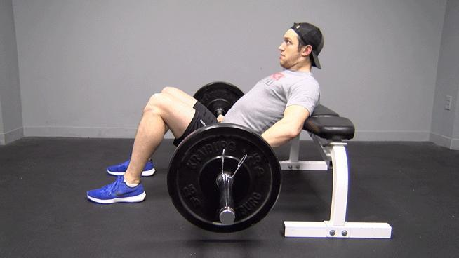 If it weird for men to do glute bridges at the gym?