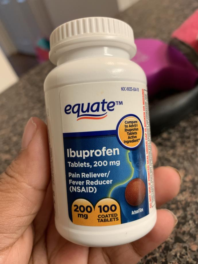 Can you crush ibuprofen Tablets 200 mg Pain Reliver/Fever Reducer (NSAID)?