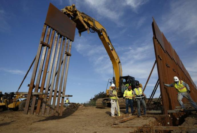 Why aren't Trump supporters upset that Americans are paying to build a useless border wall? Who was to pay for the wall--Mexico?