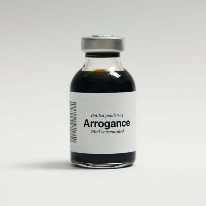 What makes a person arrogant?