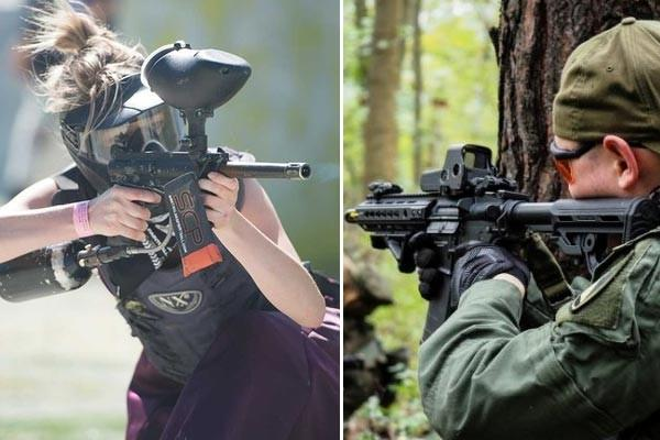 Airsoft or Paintball?