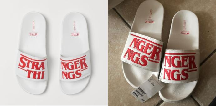 I ordered slippers from 'stranger things', how do you like them?