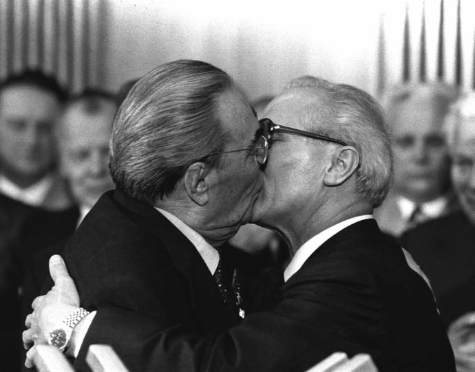 It is a custom to kiss business partner and political figures where do you live?