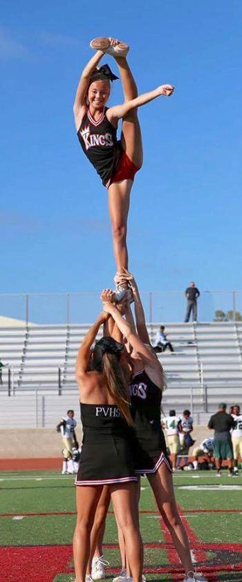 Do you admire the beauty, Grace and athleticism displayed by Cheerleaders?