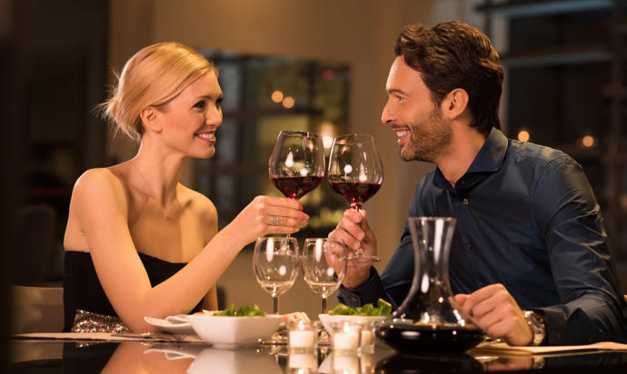 Can a dinner be considered a date?