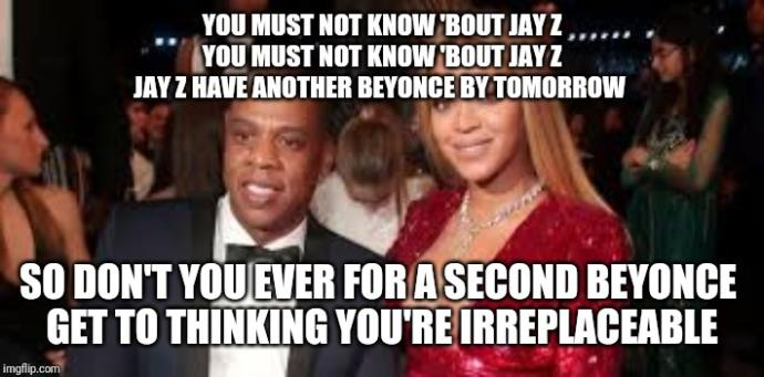 Do you Agree that Jay Z is out of Beyonce's league?