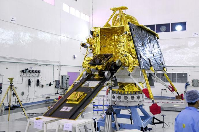 What do you think about India's lunar landing launch bound for the moon?