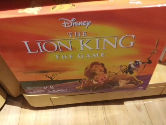 Would you play the Lion King Board game?