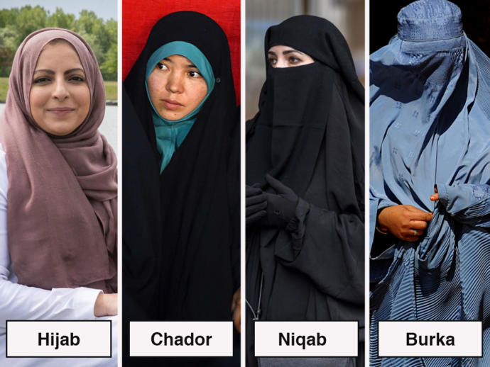 What are your opinions on burqa and niqabs?