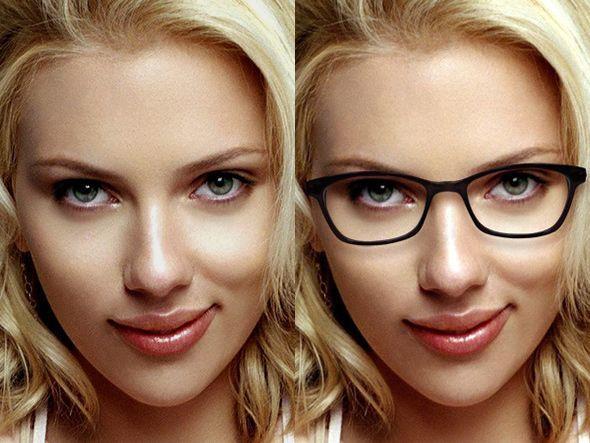 Do glasses make a girl more attractive?