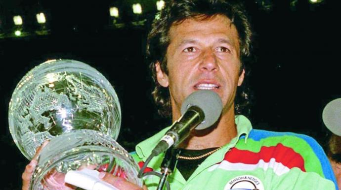Pakistan's PM called Imran Khan. He also won the world cup for Pakistan.